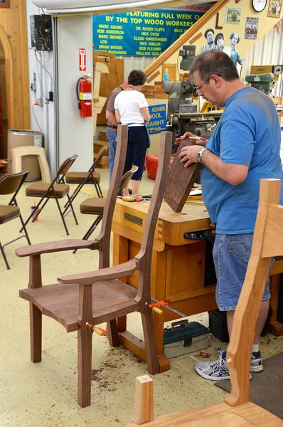 Rocking Chair w Adams 46