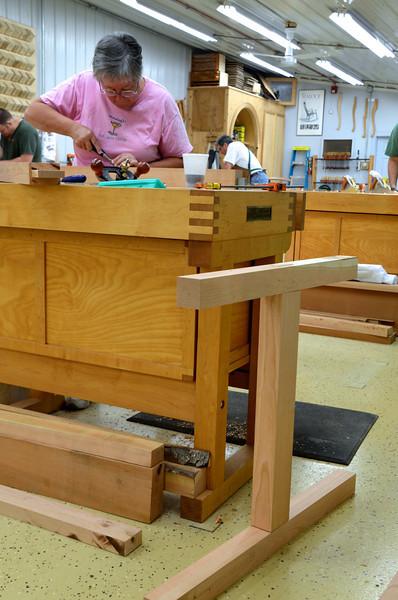 Trestle Table w Schwarz 25