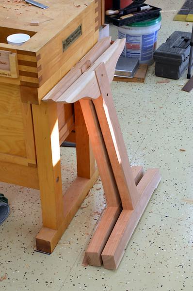 Trestle Table w Schwarz 37