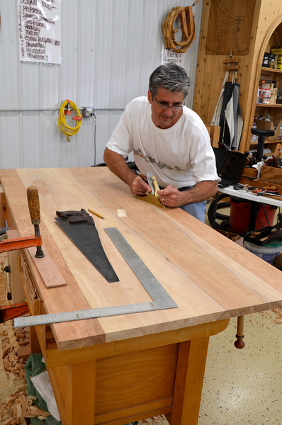 Trestle Table w Schwarz 40