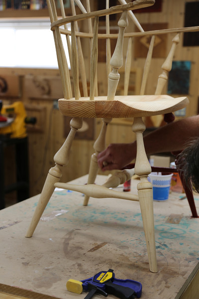 Windsor Chairmaking with Galbert 58