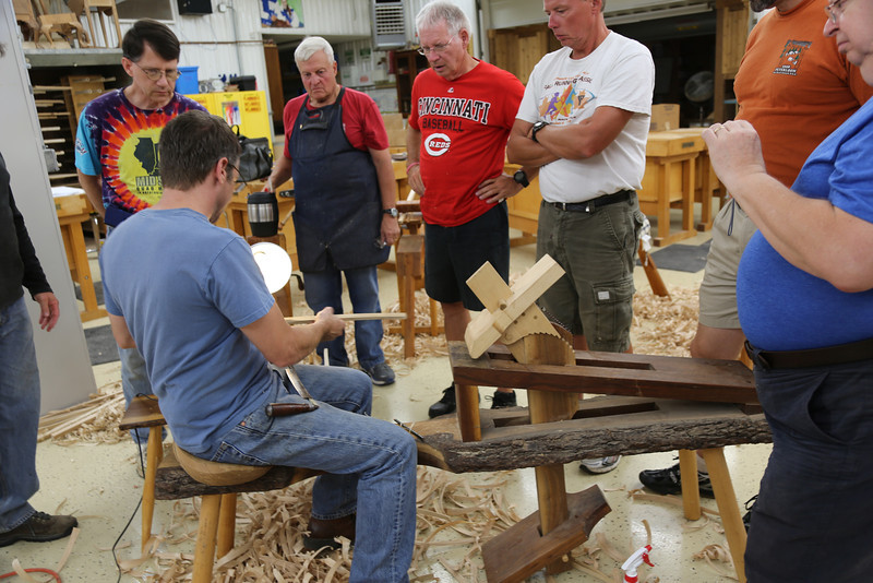 Windsor Chairmaking with Galbert 44
