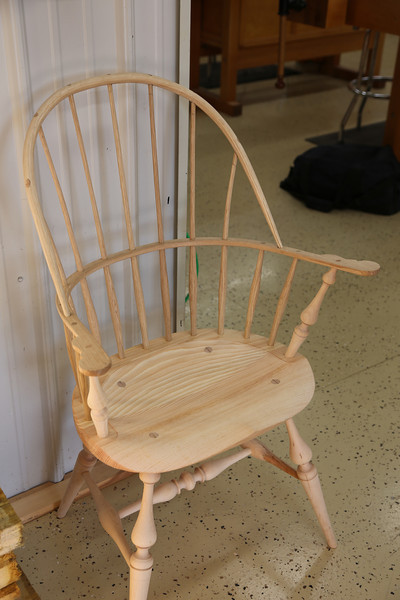 Windsor Chairmaking with Galbert 5