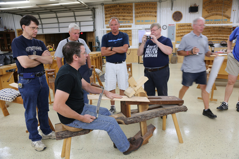 Windsor Chairmaking with Galbert 61