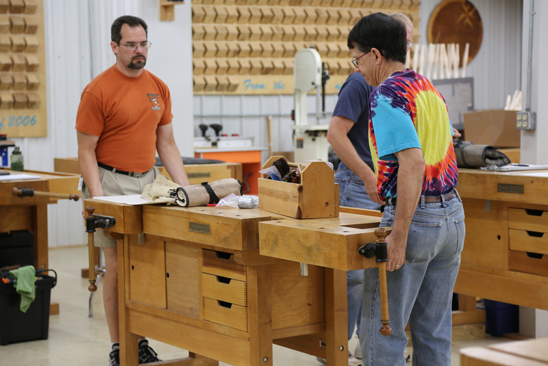 Windsor Chairmaking with Galbert 7