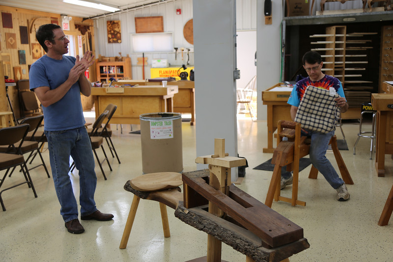 Windsor Chairmaking with Galbert 9