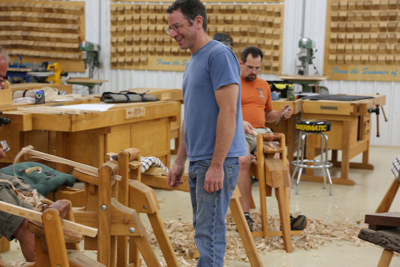 Windsor Chairmaking with Galbert 40