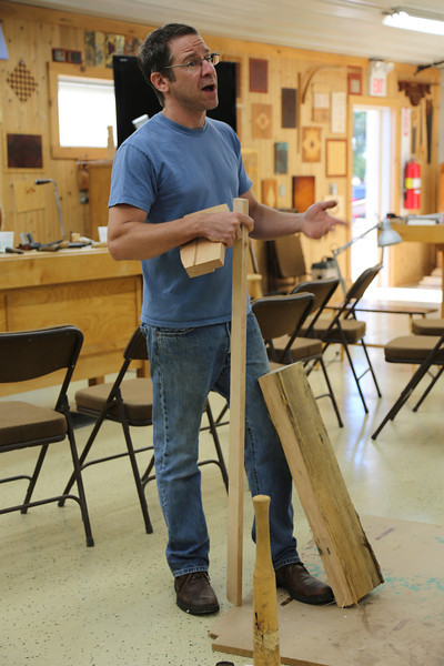 Windsor Chairmaking with Galbert 12