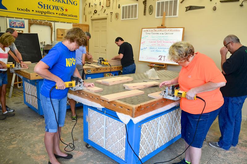Basic Woodworking w Adams [Sept] 46
