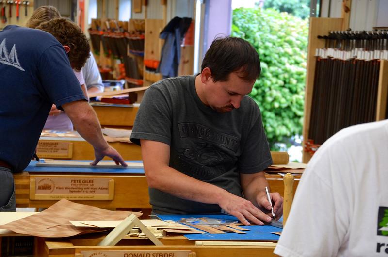 Basic Woodworking w Adams [Sept] 14