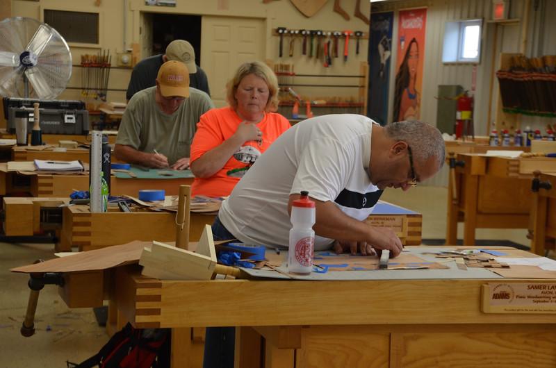Basic Woodworking w Adams [Sept] 30