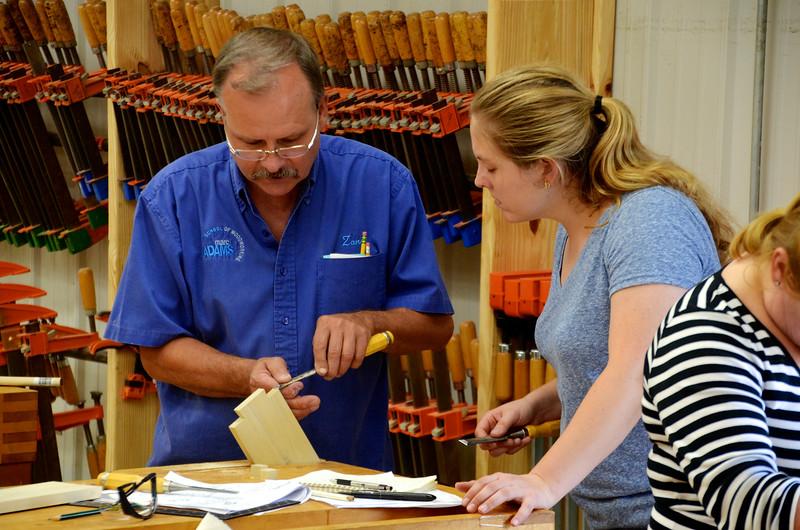 Basic Woodworking w Adams [Sept] 9