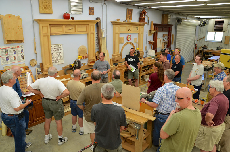 Joinery with Adams-June 7