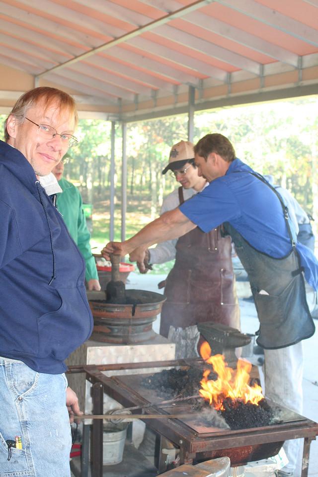 Blacksmithing w Burt 90