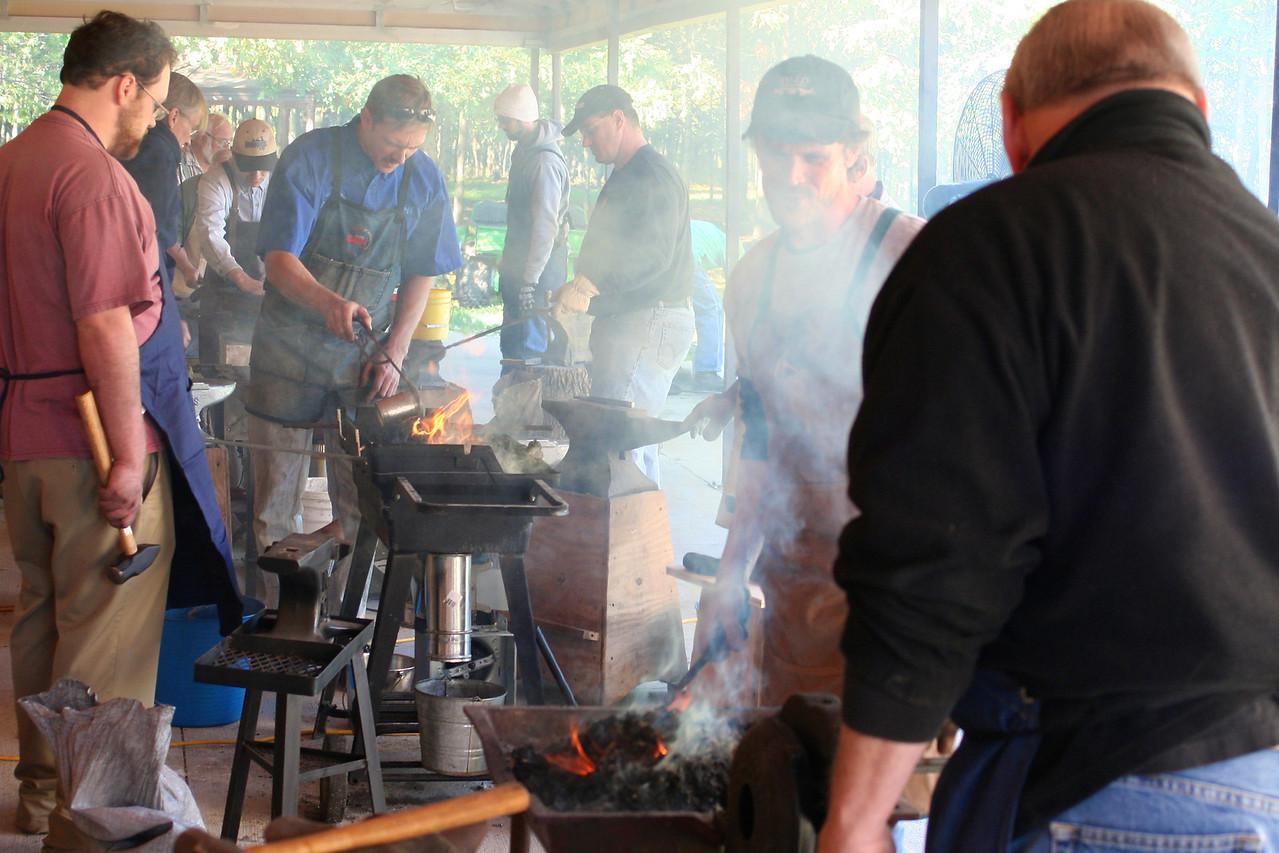 Blacksmithing w Burt 69