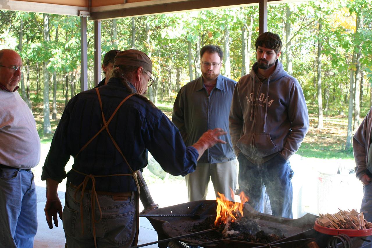 Blacksmithing w Burt 14