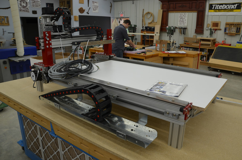 CNC Router w Knight 49