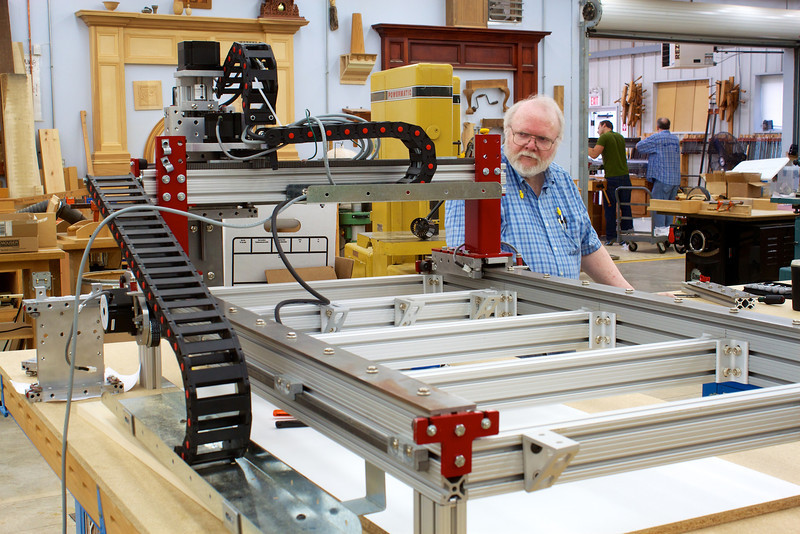 CNC Router w Knight 54