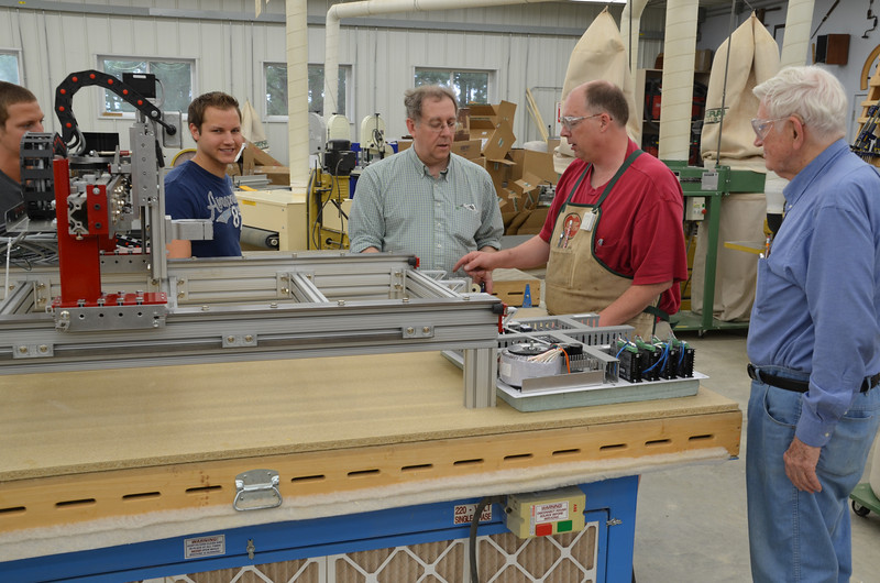 CNC Router w Knight 23