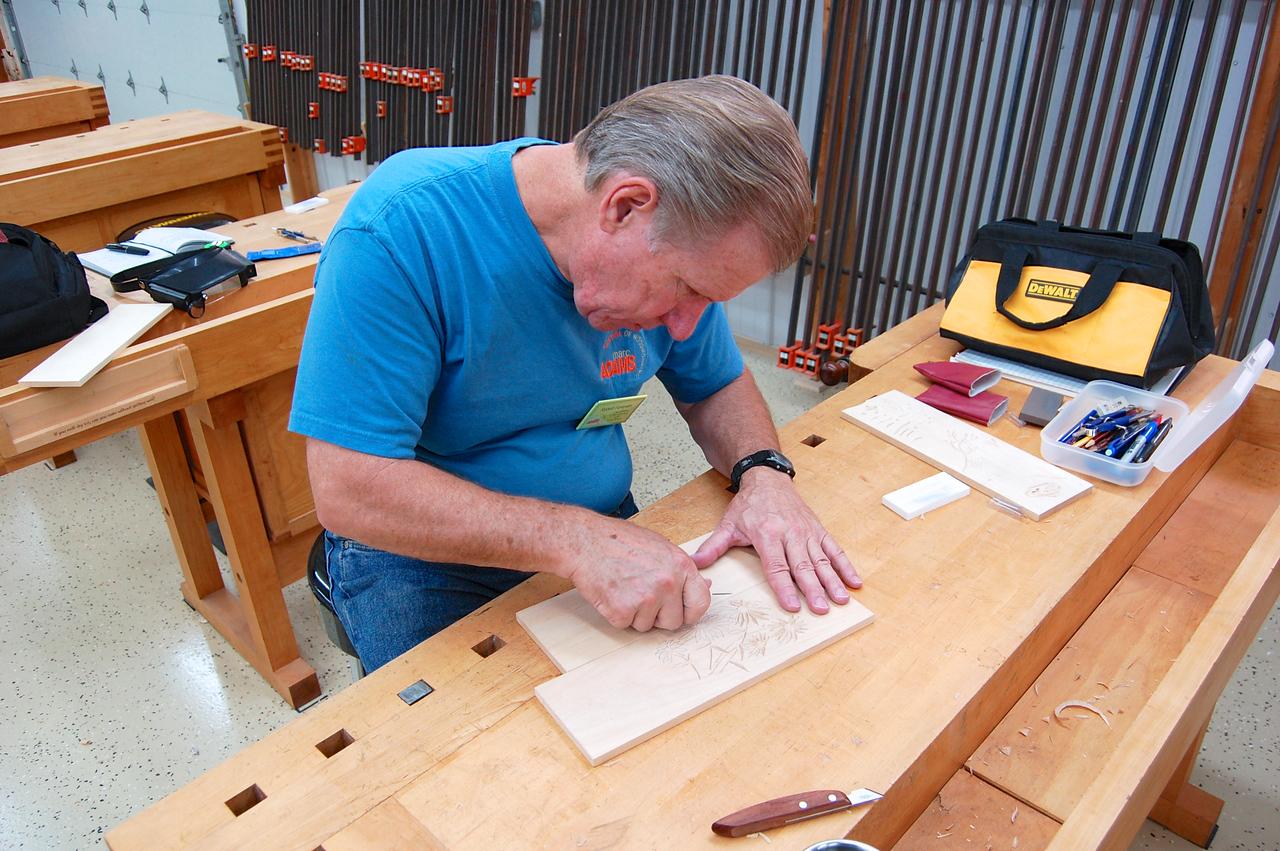 Chip Carving w Stevens 8