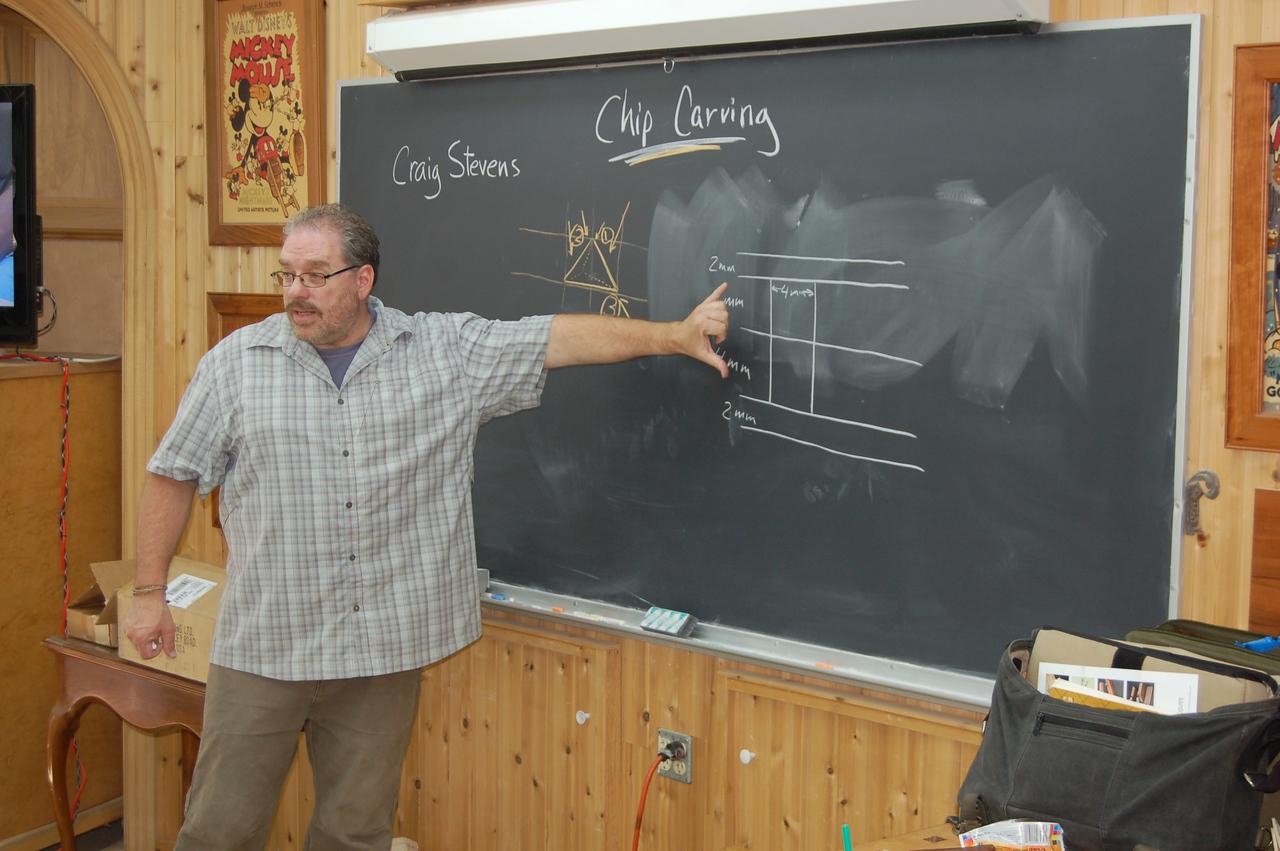 Chip Carving w Stevens 5
