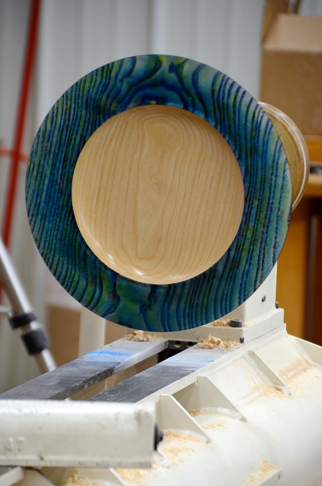 Woodturning w Clewes 156