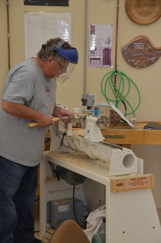 Woodturning w Lacer [Oct'14] 33