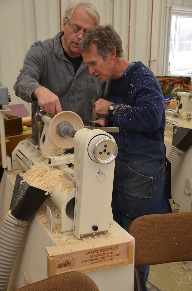Woodturning w Lacer [Oct'14] 49