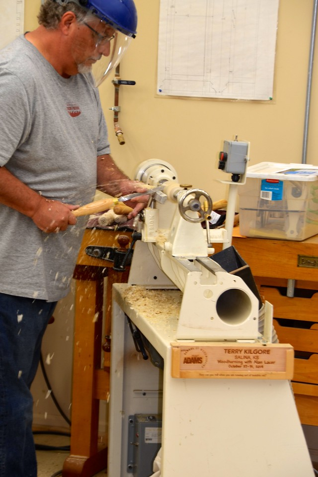 Woodturning w Lacer [Oct'14] 26