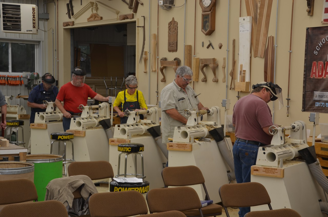 Woodturning w Lacer [Oct'14] 22