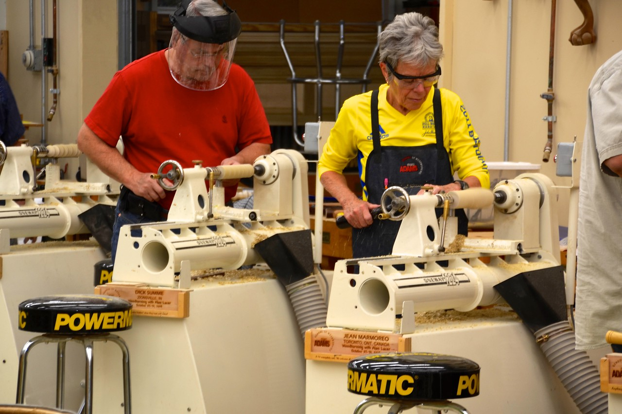 Woodturning w Lacer [Oct'14] 23