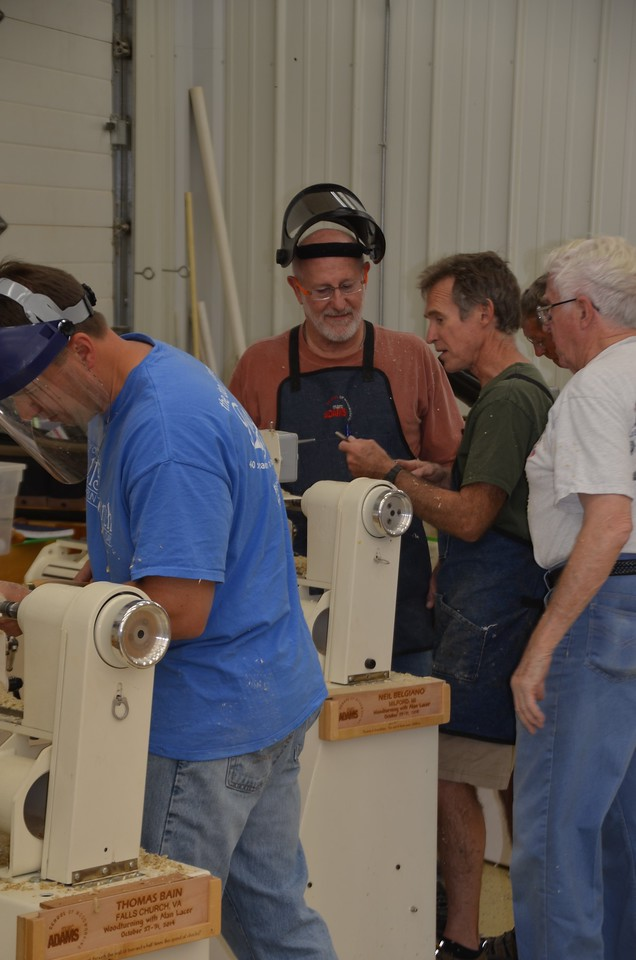 Woodturning w Lacer [Oct'14] 20