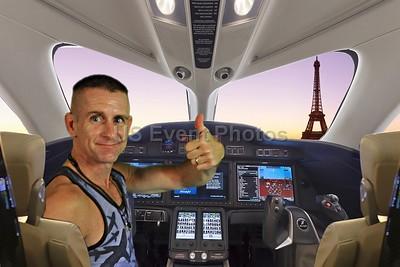 Landing at Paris