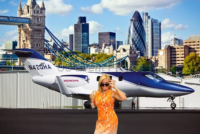 London by Honda Jet