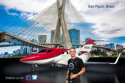 Sao Paulo Brazil by Jet