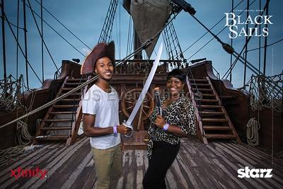 Starz black sails Ship