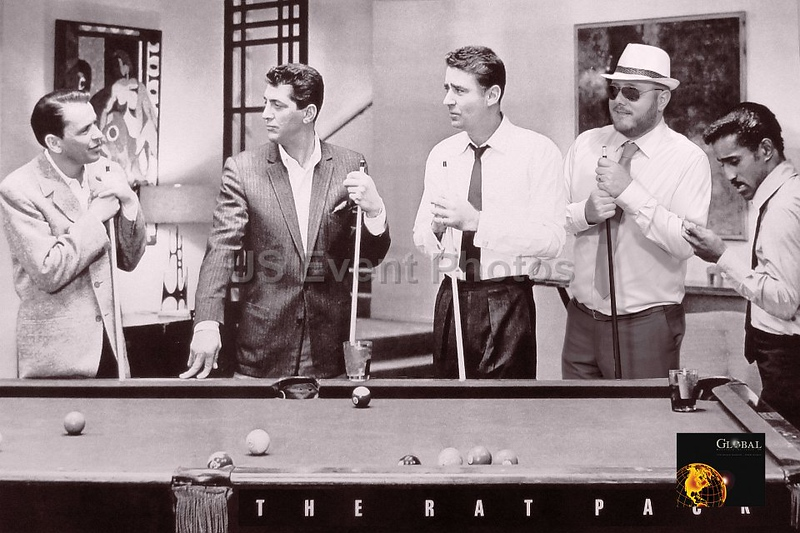 Join the Rat Pack (participant in hat)