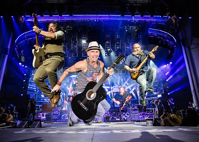 Jumping with the band