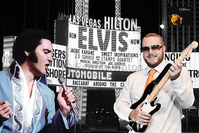 Elvis at Vegas
