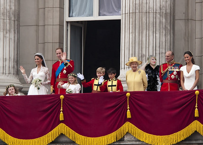 Kate and William on balcony -- plus you