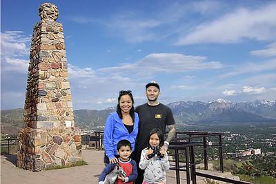 Ensign Peak near Salt Lake City