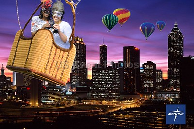 Atlanta Skyline By Balloon
