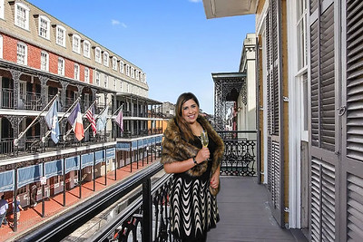New Orleans French Quarter Balcony 2