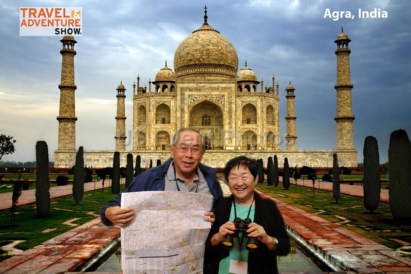 Taj majol Agra India