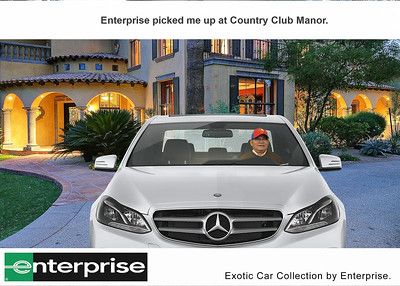 Driving at the Country Club Manor