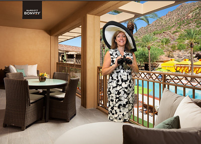 In a Canyon Suite at the Phoenician Resort