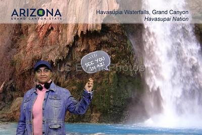 Arizona Havasupia Waterfalls Grand Canyon