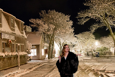 Nantucket in the Snow