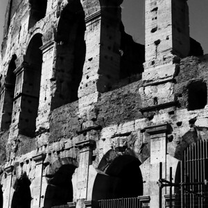 Colosseum - Marble Fixings by Tony Delaney