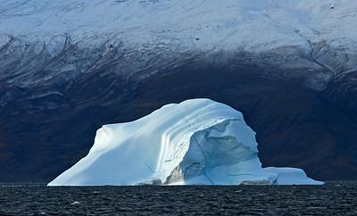 Ice in Uummannaq fjord, Greenland
